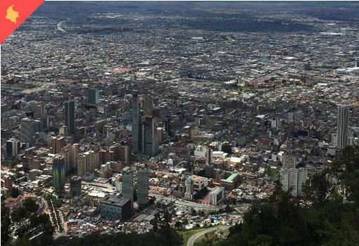 reis Koloniaal Colombia