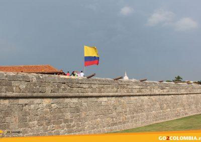 Cartagena Stadsmuren