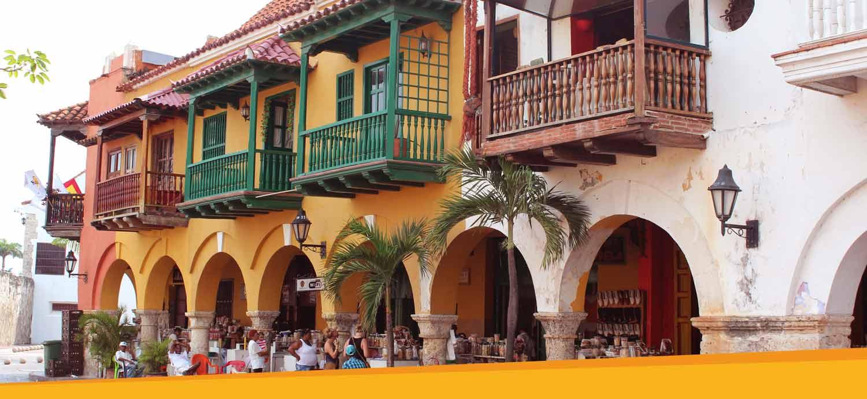 Cartagena Colombia - reizen naar Colombia
