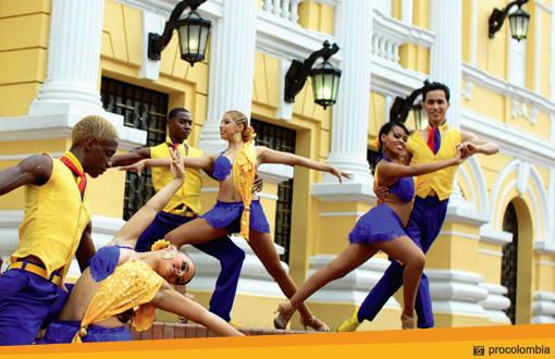 Salsa dansen in Colombia